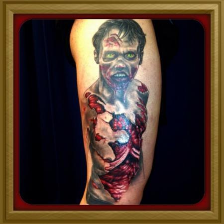 Projekt Zombie Bein (No. 3) Finish