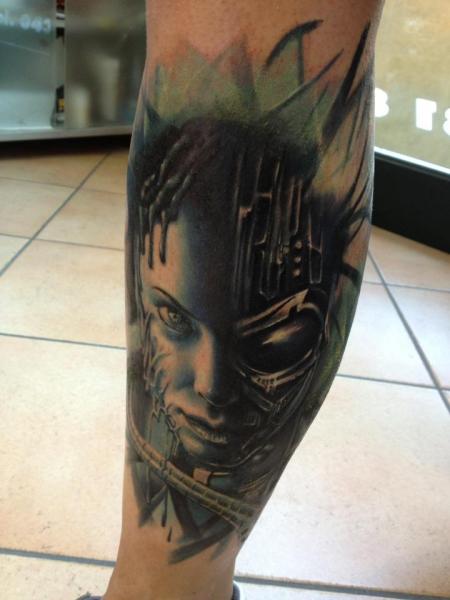 Female Terminator by Alex de Pase