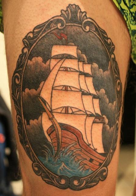 Schiff Oberschenkel
