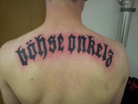 Böhse Onkelz Tattoo