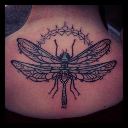 libelle-Tattoo: Libelle