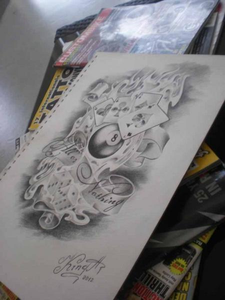Mal wieder eine Zeichnung