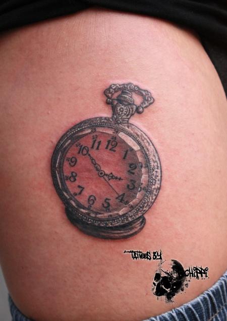 chippi tattoo uhr tattoos von tattoo. Black Bedroom Furniture Sets. Home Design Ideas