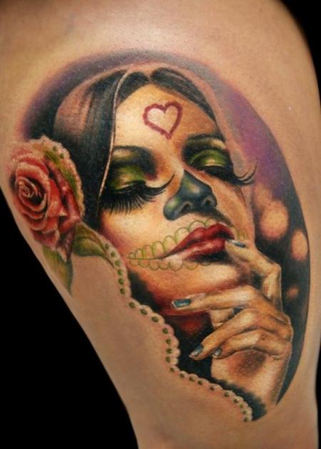 catrina-Tattoo: La Catrina