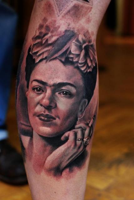 Frida Kahlo Porträt