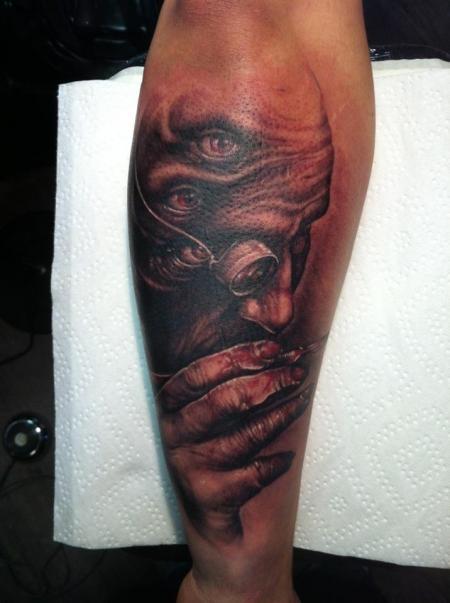 stechwerk wuppertal-Tattoo: doc.