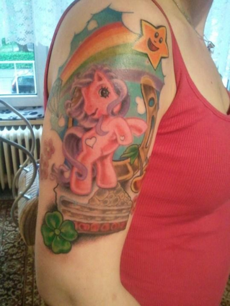 my little pony.....