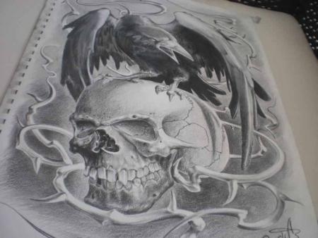 skull-Tattoo: skull