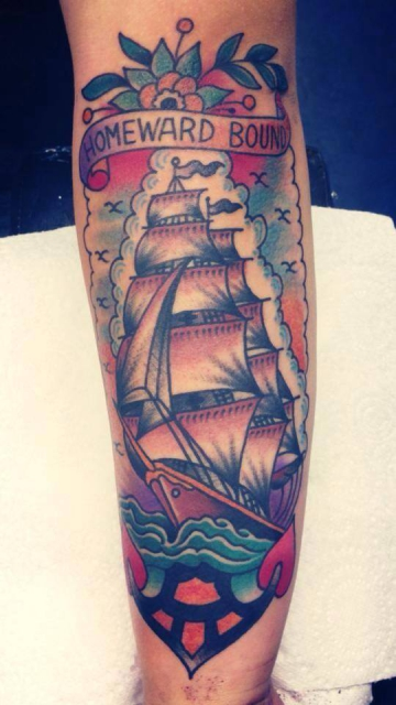 Traditional Clipper Ship