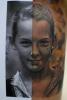 Porträt mit halben Vergleichsbild