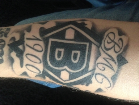 Tattoo Borussia Mönchengladbach