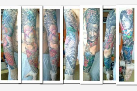 japan-Tattoo: Übertätowiert