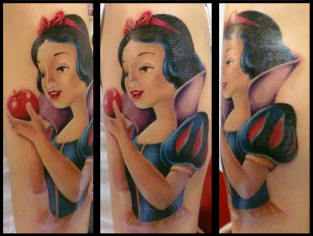 disney-Tattoo: Snow White
