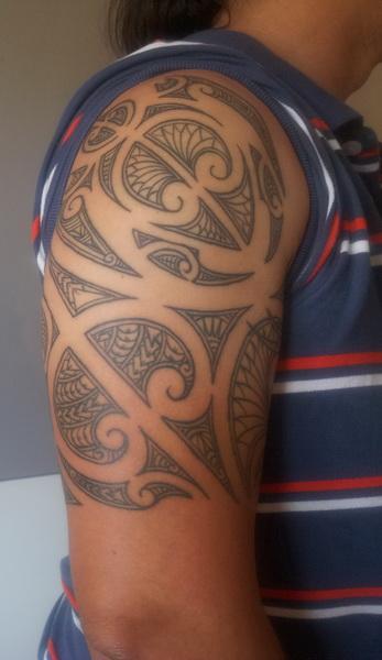 maori-Tattoo: Maori - Moko von Volle