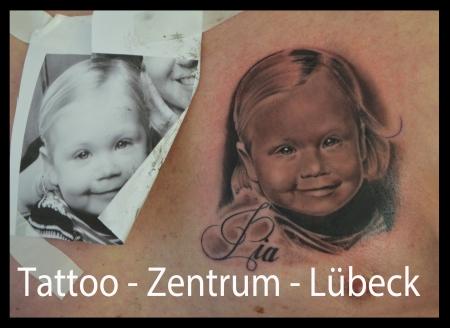 Tattoo Zentrum Lübeck - Portrait Baby