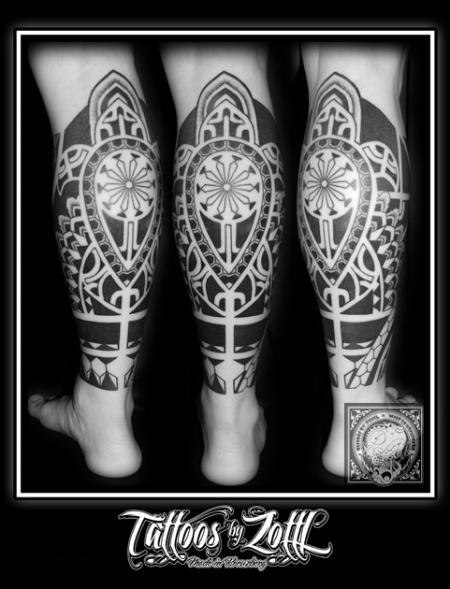Maori Wade Blackwork