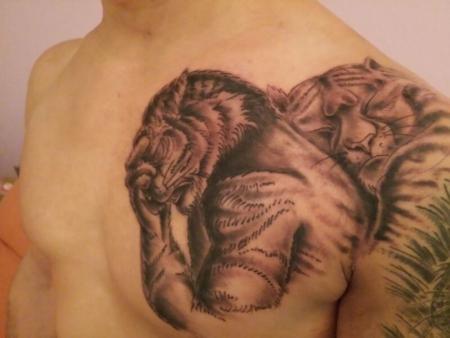 Max85nrw Tiger Liebe Tattoos Von Tattoo Bewertung De