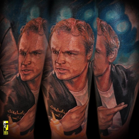 sterne-Tattoo: Terence Hill