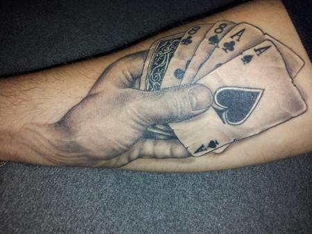 Bill Hickok´s dead mans hand