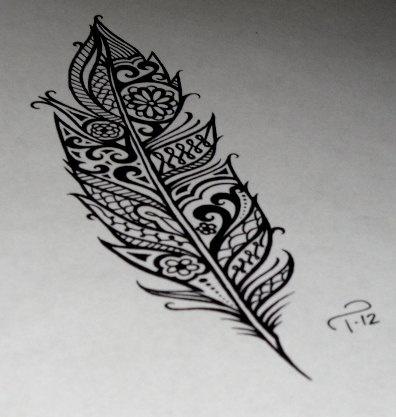 Feder-Tattoo: Feder möglich?