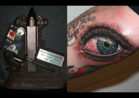 Sterne-Tattoo: eye