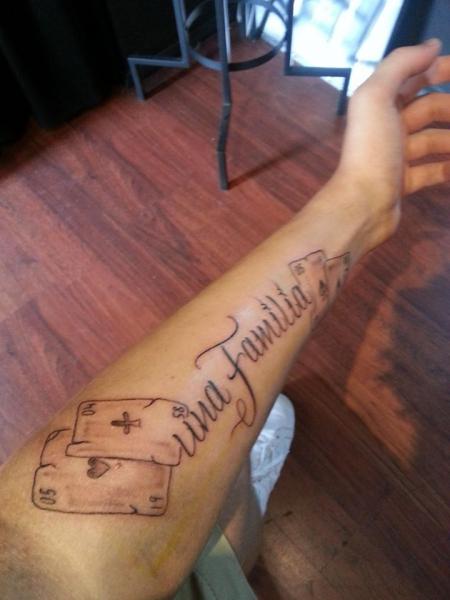 Tattoo für die familie