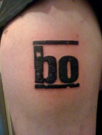 böhse onkelz-Tattoo: Böhse Onkelz Logo