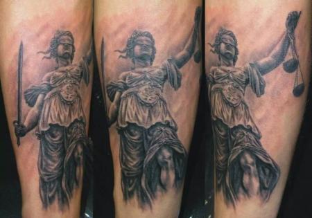 Justitia, Göttin der Gerechtigkeit