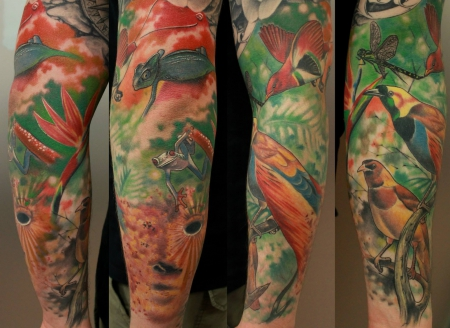 gorilla-Tattoo: ruperts sleeve