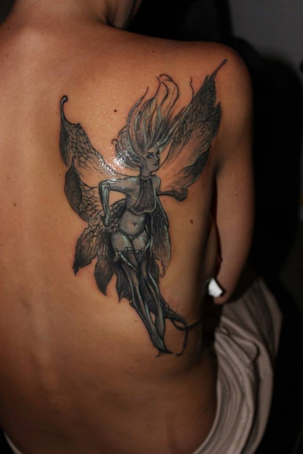 tinkerbell-Tattoo: Dark Tinkerbell