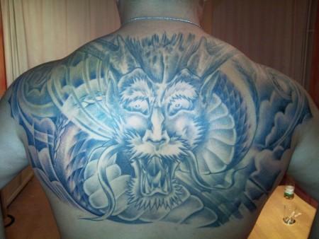 drachen-Tattoo: Japan Drache Teil 1