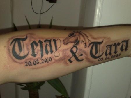 Tattoo Namen Kind