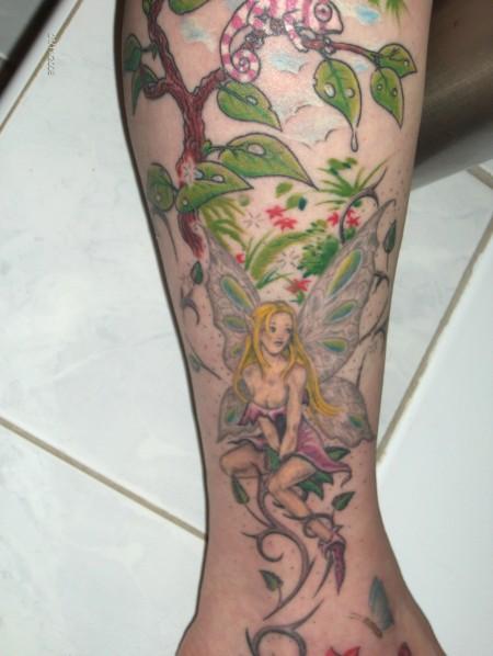 elfen-Tattoo: Ausschnitt2