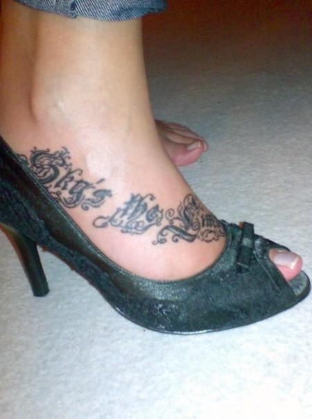 Dixxy Skys The Limit Tattoos Von Tattoo Bewertungde