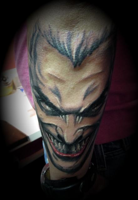joker-Tattoo: Joker