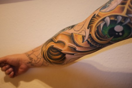Biomechanic Sleeve (in Arbeit)