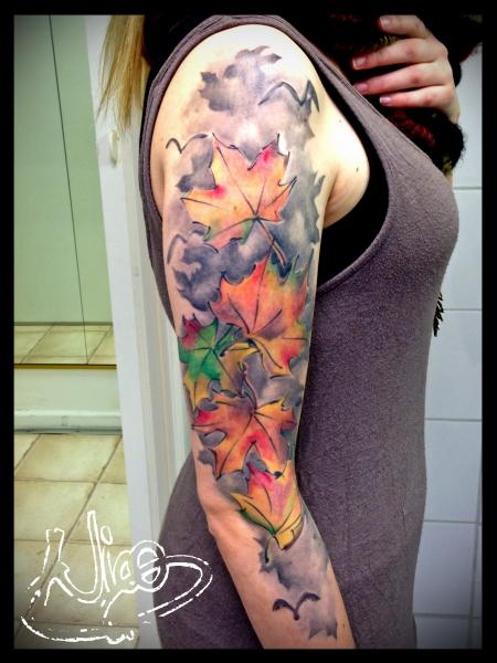 Herrfalkenhorst Herbst Tattoos Von Tattoo Bewertung De