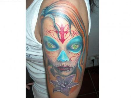 suchergebnisse f r 39 catrina 39 tattoos tattoo. Black Bedroom Furniture Sets. Home Design Ideas