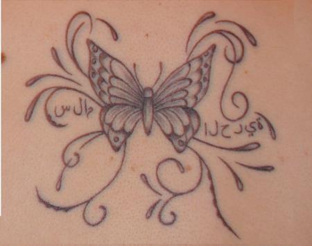 sweet engele butterfly frieden freiheit tattoos von tattoo. Black Bedroom Furniture Sets. Home Design Ideas
