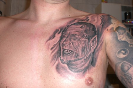 Selbst Porträt als Beelzebub !