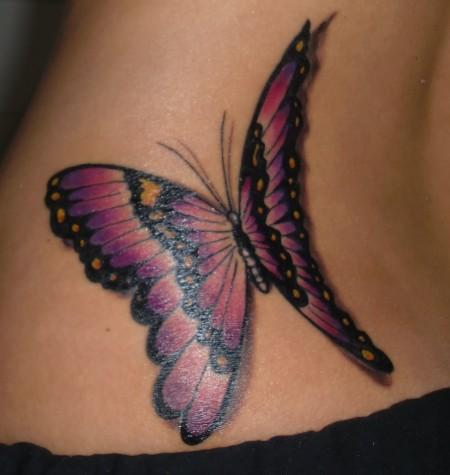 Mein erstes Tattoo - ein wunderschöner Schmetterling :)