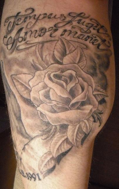 2 Gedenk Tattoo
