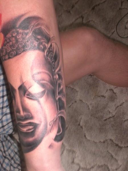 Buddha mil Lotusblüte