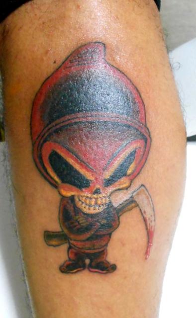 zweites tattoo das ich gestochen hab....