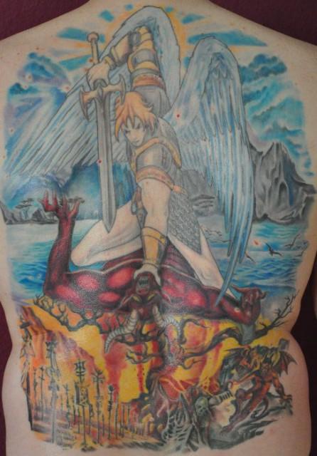 Misterspiderman Kampf Zwischen Gut Und Bös Tattoos Von Tattoo