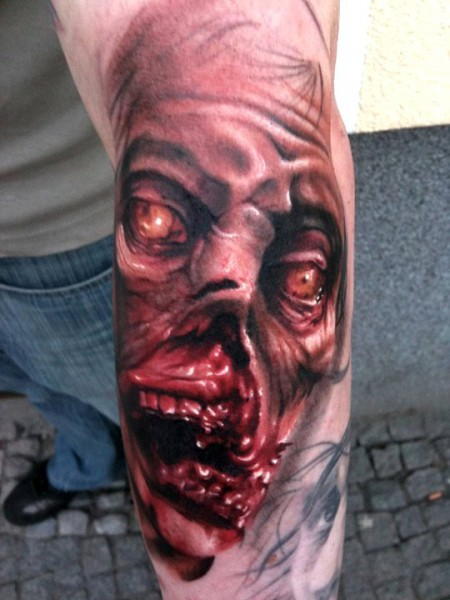 Tattoo; Shorty: Dawn of the Dead In Progress Part I | Tattoos von