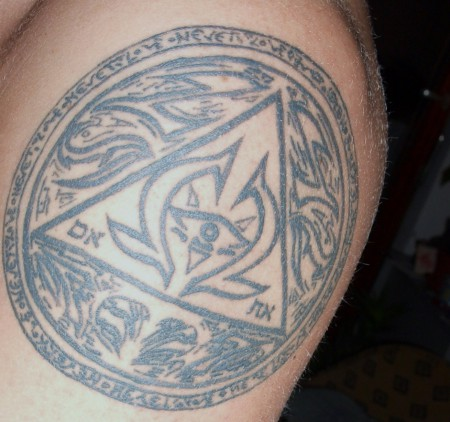 Aztekensymbol für Wahrheit & Weisheit
