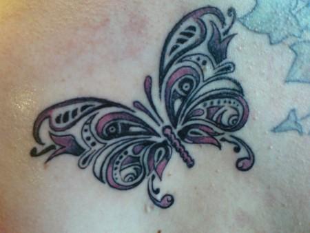 Tribal-Schmetterling