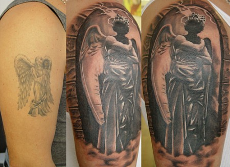 tatowierung-Tattoo: angel