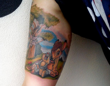 CasyDesignZ: Bambi   Tattoos von Tattoo-Bewertung.de